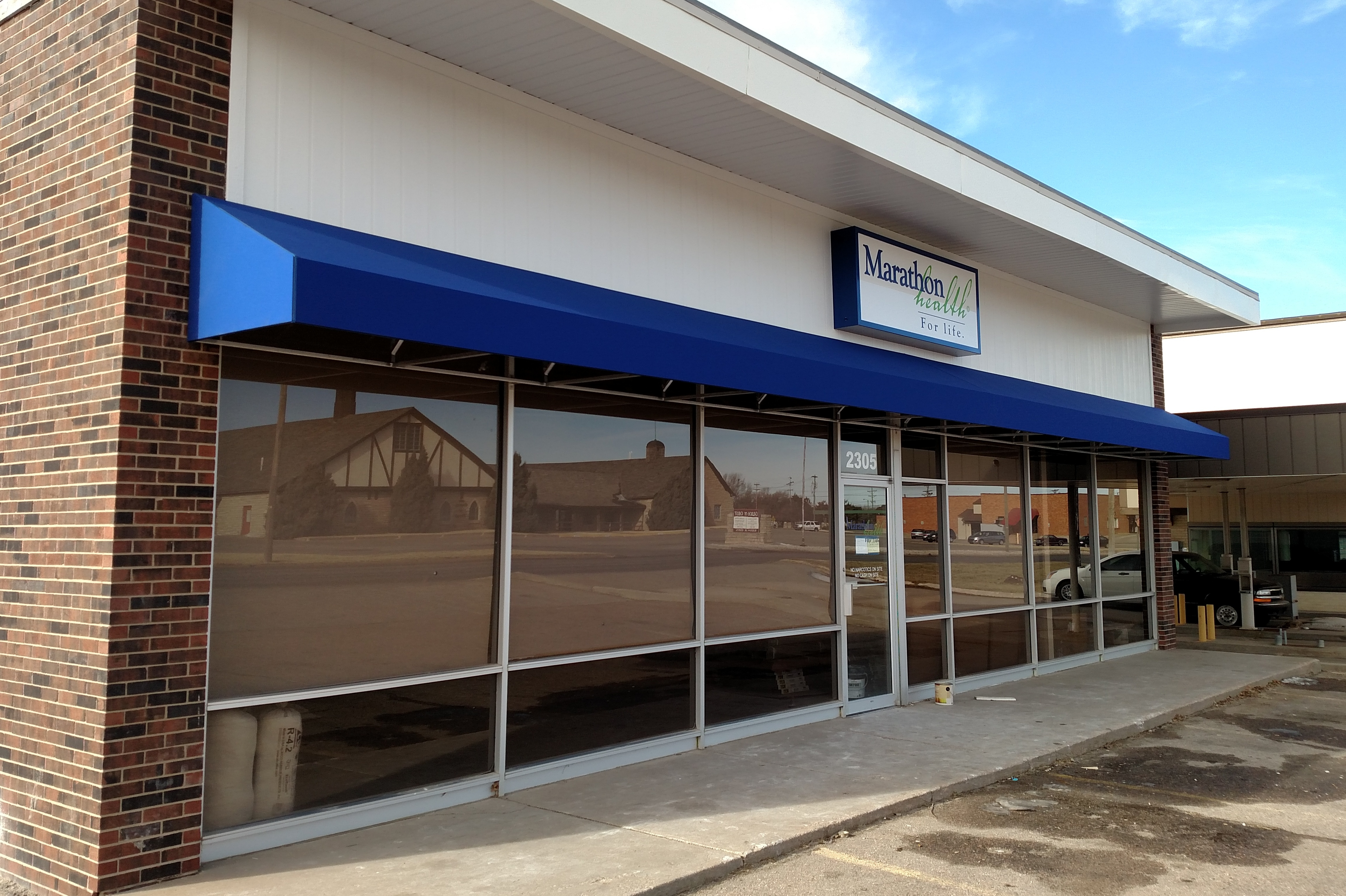Marathon Health medical clinic constructed by Retail Construction Services, Inc.