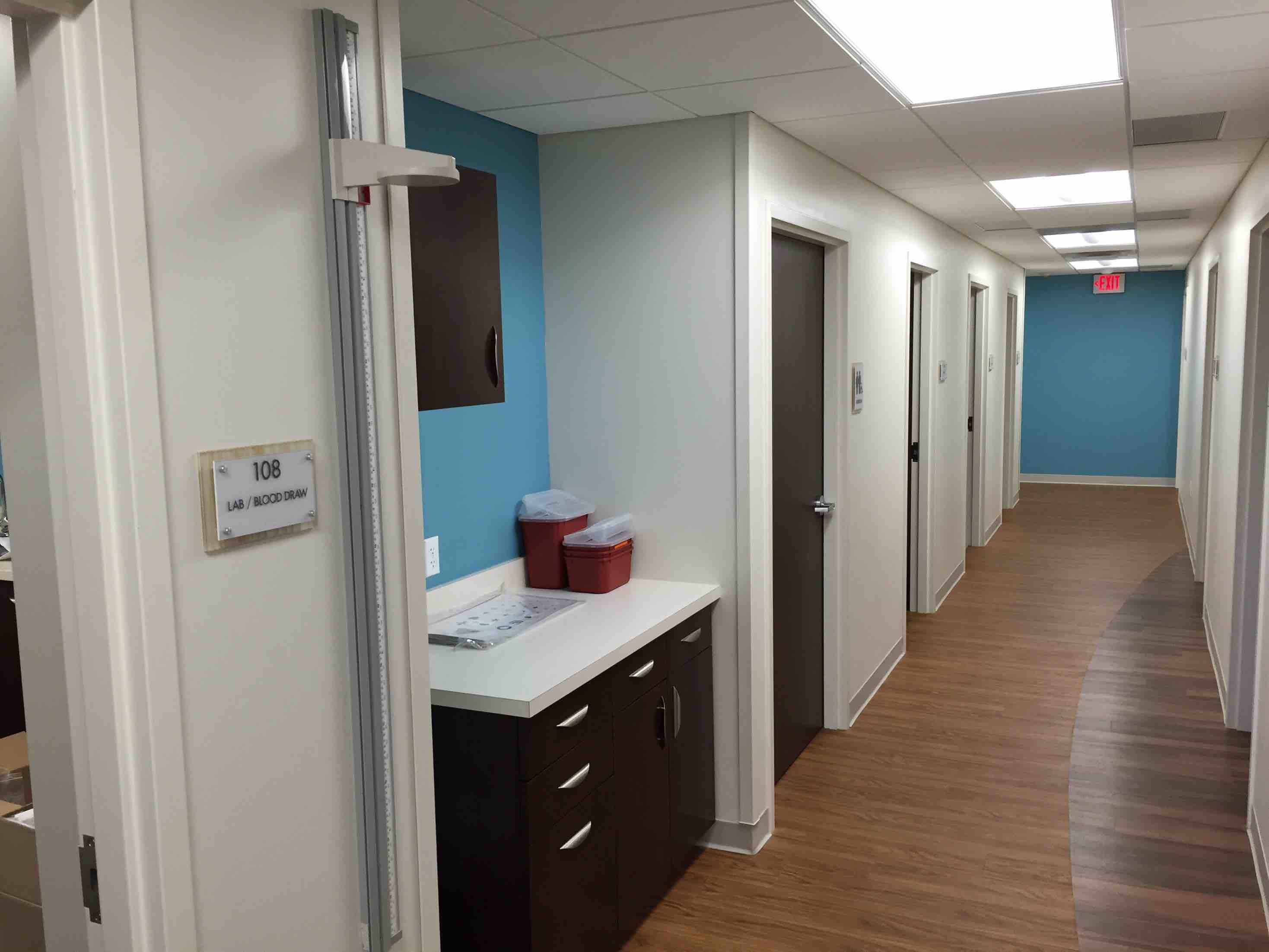 Marathon Health office construction by Retail Construction Services, Inc.