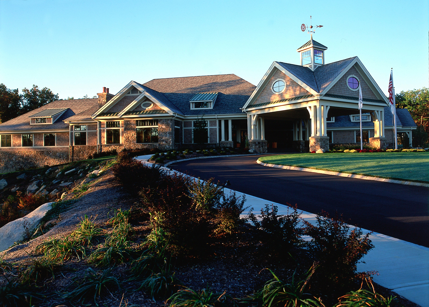 TPC Boston golf clubhouse constructed by RCS