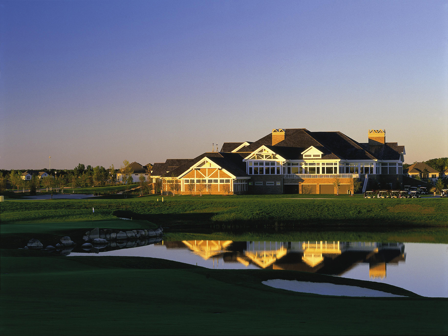 TPC Twin Cities Clubhouse constructed by RCS