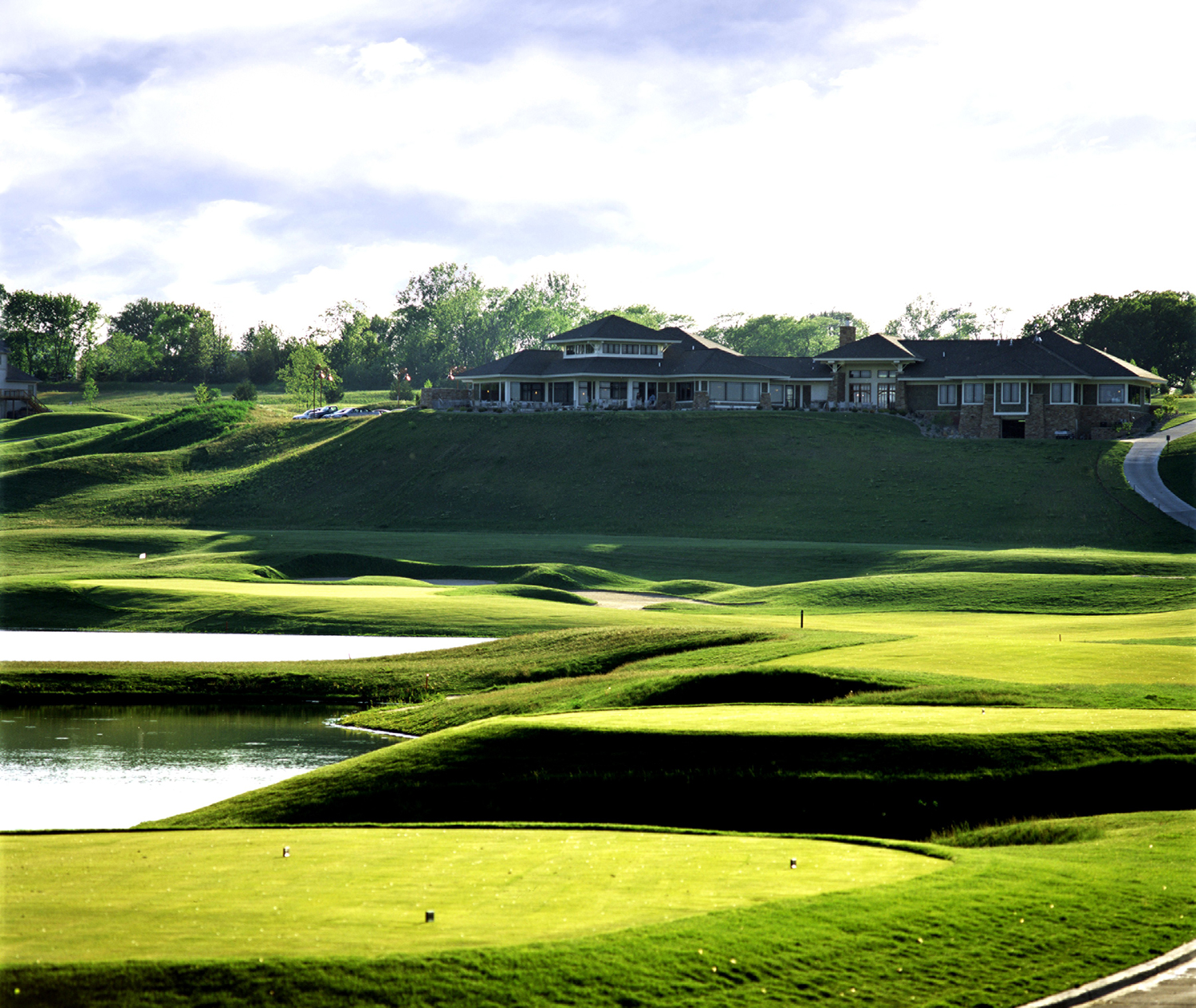 Tournament Club of Iowa, IA golf clubhouse constructed by RCS